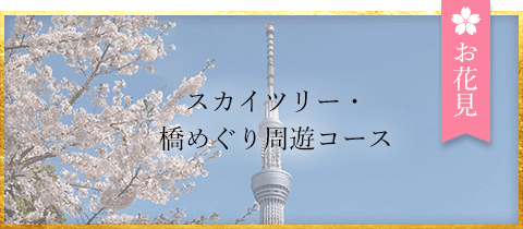 屋形船_スカイツリー・橋めぐり周遊コース