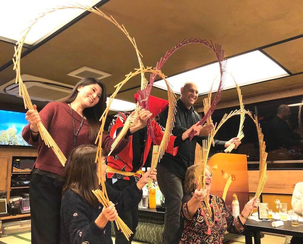 江戸芸能と屋形船