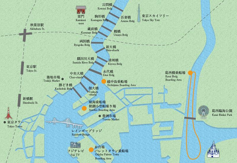 屋形船の舞浜コース